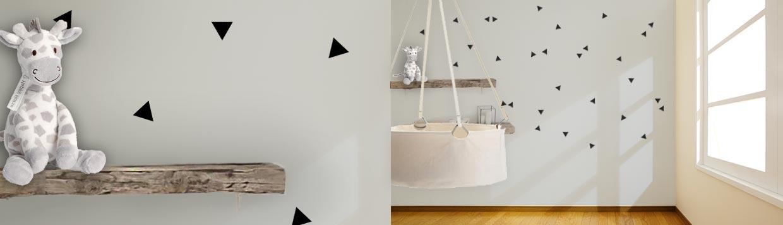 Muurstickers babykamer, uniek met een muursticker : StickerOp