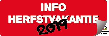 info herfstvakantie 2019
