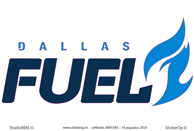 - logosticker Dallas Fuel
