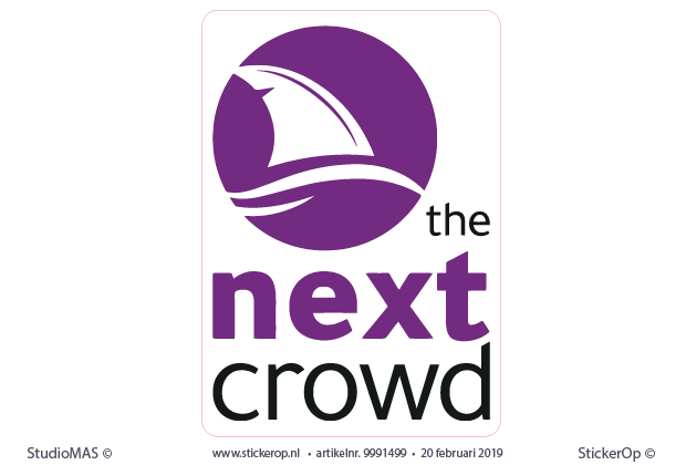 muursticker-logo - The Next Crowd