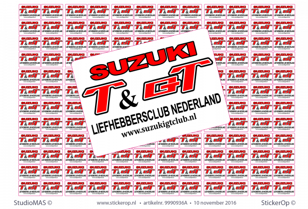 Sticker Suzuki GT Club