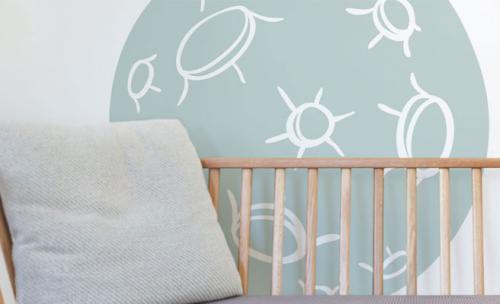 Behang Kinderkamer Ruimtevaart : Muurstickers interieurstickers en decoratiestickers