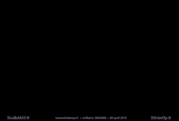 muursticker songtekst metallica enter sandman sticker