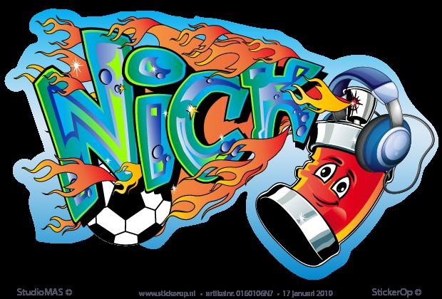 Babykamer Nick Handleiding.Graffiti Met Vriendelijke Spuitbus Nick