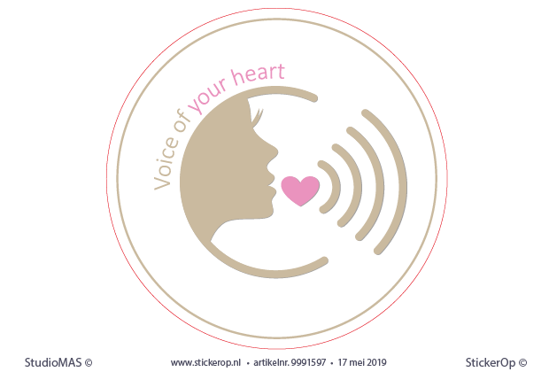 zakelijk logo - Voice of your heart