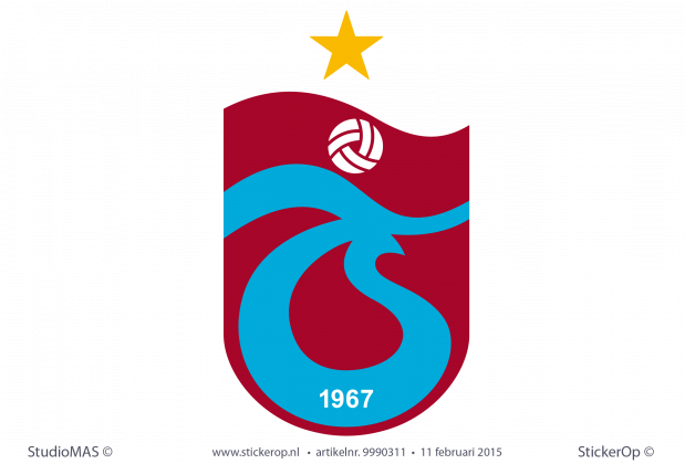 logo sticker Trabzonspor
