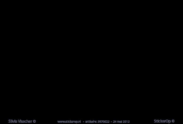 Muurstickers Kinderkamer Zee.Muurstickers Thema De Zee Walvis