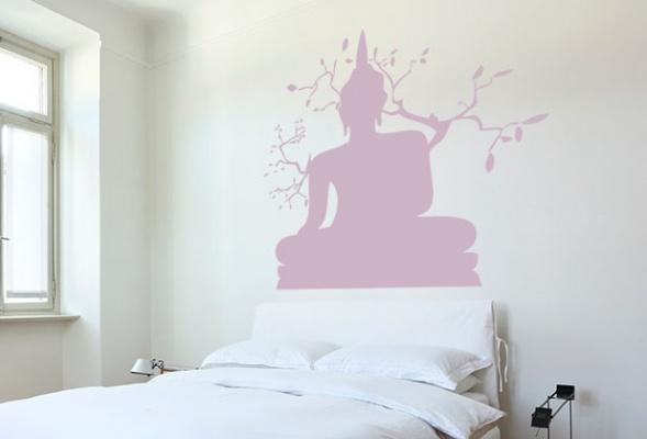 Muursticker Boeddha   StickerOp