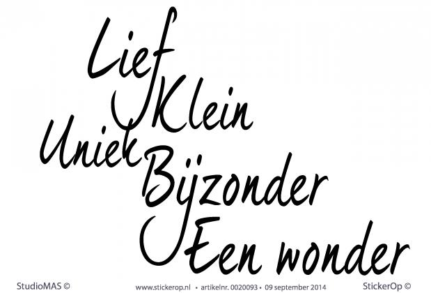 Muurstickers Babykamer Eigen Ontwerp : muursticker tekst kinderkamer ...