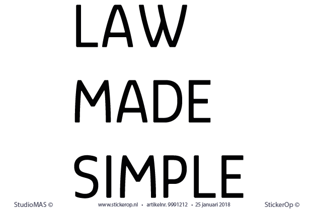 - Law Made Simple