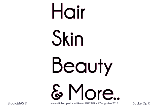 - Hair-Skin-Beauty