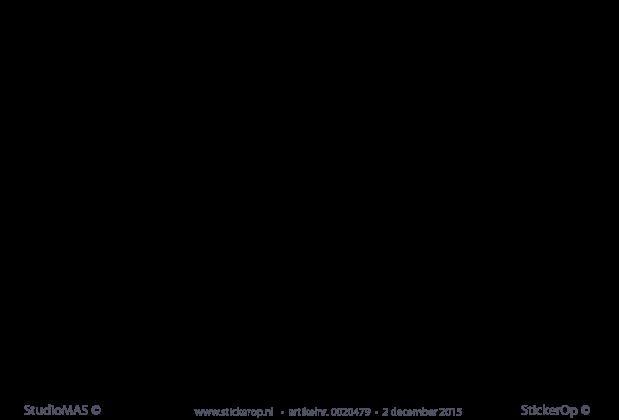 muurstickers teksten slaapkamer welterusten in verschillende talen